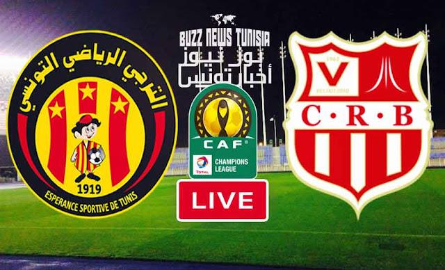 Watch Match Esperance de Tunis vs Chabab Belouizdad Live Streaming
