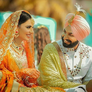 Punjabi couple pic