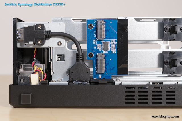 ANÁLISIS INTERNO SYNOLOGY DISKSTATION DS720+