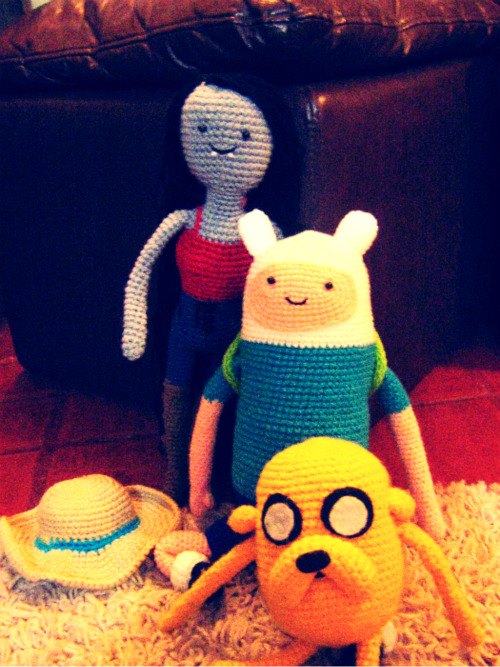 Finn and Jake - Adventure Time - Crochet Patterns by ... | 667x500