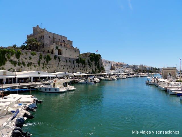 Puerto, ciutadella, Menorca