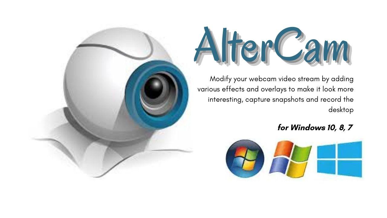 AlterCam Download Latest Version for Windows 10, 8, 7