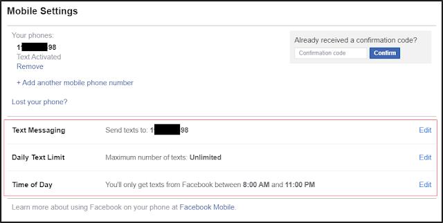 استخدام رقم هاتف صالح كخطوة حماية