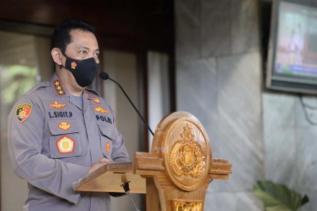 Presiden Jokowi Lantik Listyo Sigit Jadi Kapolri Baru