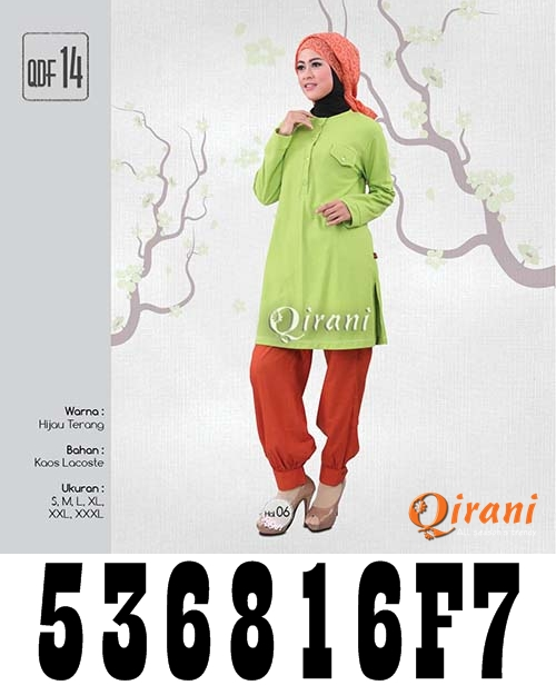 Koleksi Pakaian Muslim Qirani Paling Baru 2016 ab9120928c