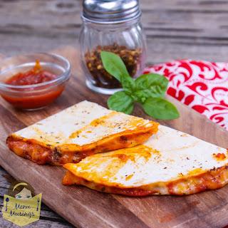 Pizza Quesadillas @menumusings.com
