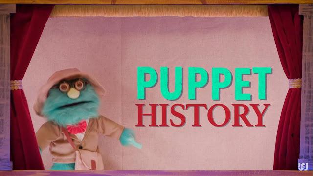 Tangkapan layar episode satu, musim satu, Puppet History di kanal Youtube Watcher.