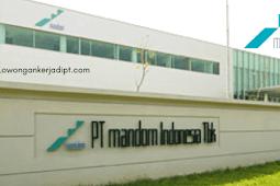 Lowongan Kerja PT Mandom Indonesia Tbk 2021