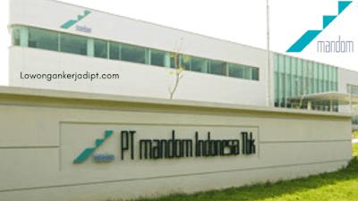 Lowongan Kerja PT Mandom Indonesia Tbk