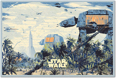 Star Wars: Rogue One Variant Screen Print by Killian Eng x Bottleneck Gallery