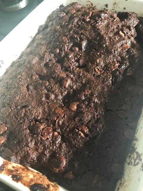 chocolate bread pudding