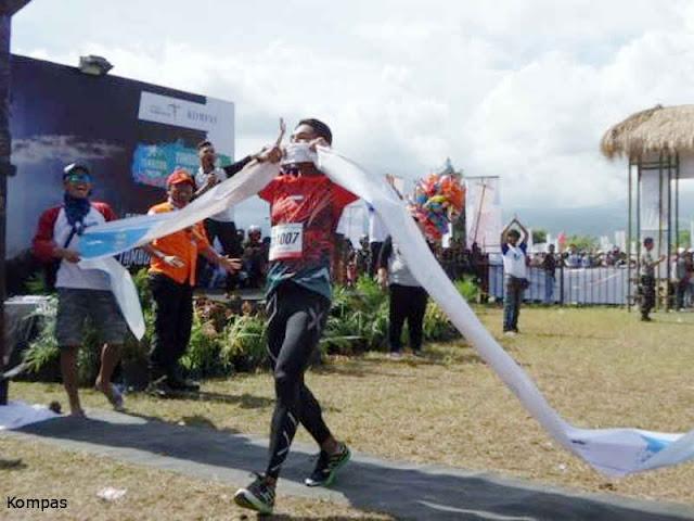 Matheous Berhitu, Duta Lari Indonesia Bagian Timur Binaan Kodam Pattimura