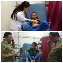 Pembakaran Bocah Terjadi di Muncar Banyuwangi - Kini Telah Dirawat Intensif di Rumah Sakit