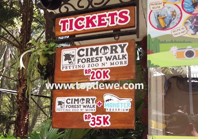 Harga tiket masuk cimory riverside bogor