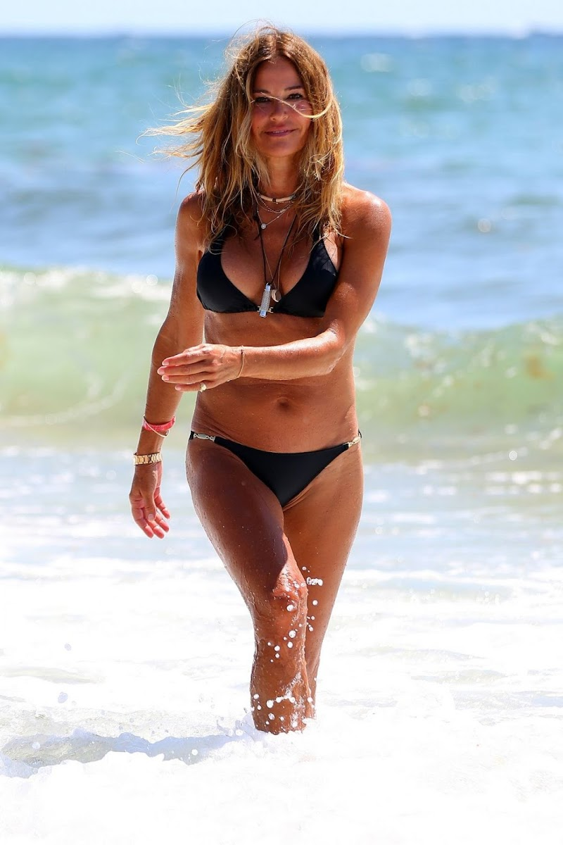 Kelly Killoren Bensimon in a Melissa Odabash Bikini at Deerfield Beach in Florida 14 Jun -2020