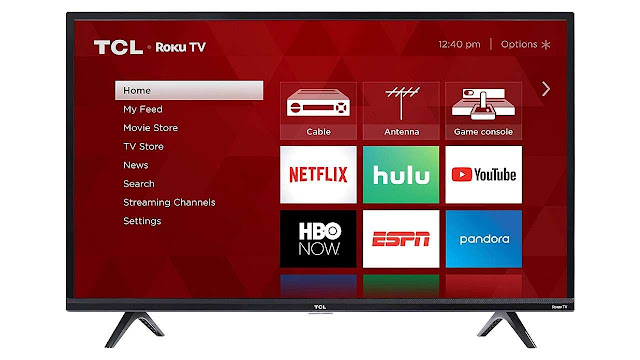 TCL 40 inches smart LED ROKU 40S325