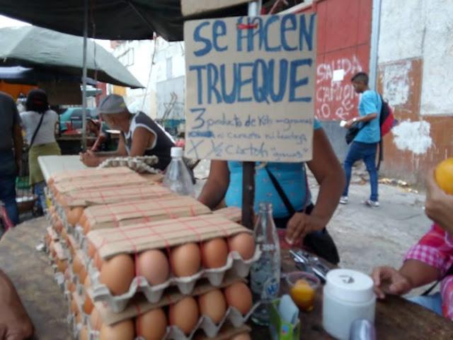 """El """"trueque por conveniencia"""" se impone en la dinámica económica de los venezolanos"""