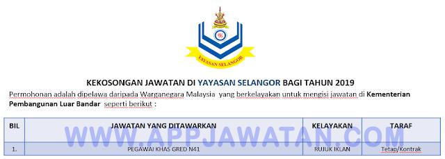 Yayasan Selangor.