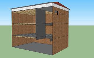 Tinggi Ideal Jarak Antar Lantai Rumah Walet