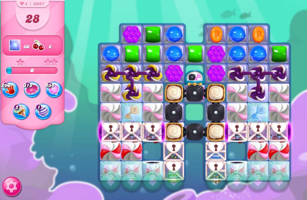 Candy Crush Saga level 8097