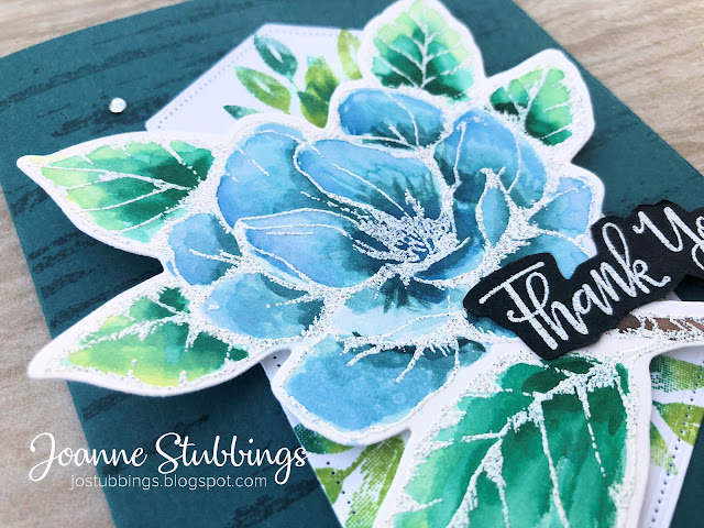 Jo's Stamping Spot - Social Stamping Blog Hop - Thank You - watercoloured Good Morning Magnolia stamp set by Stampin' Up!
