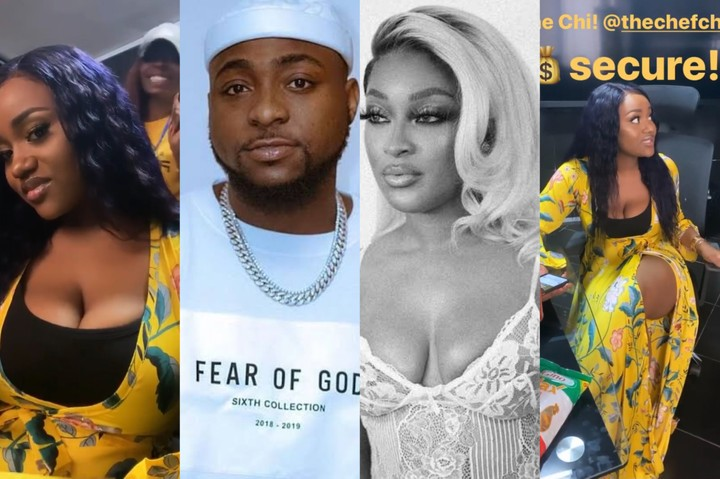 Davido welcomes 4th child, Chioma not bothered #Arewapublisize