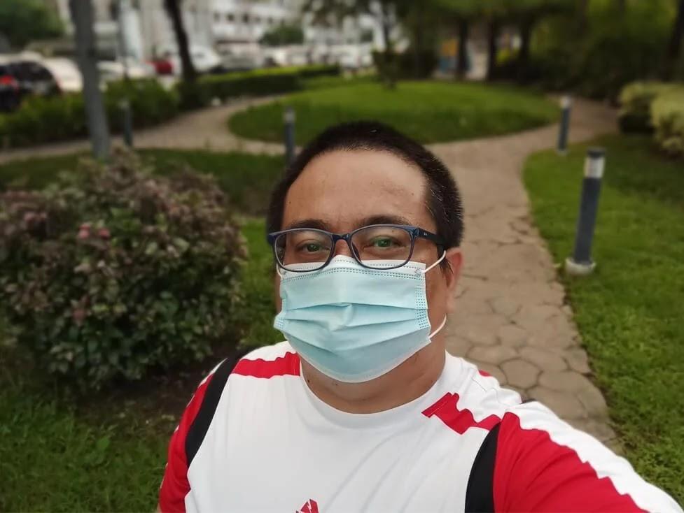 Infinix Note 10 Pro Camera Sample - Selfie, Portrait