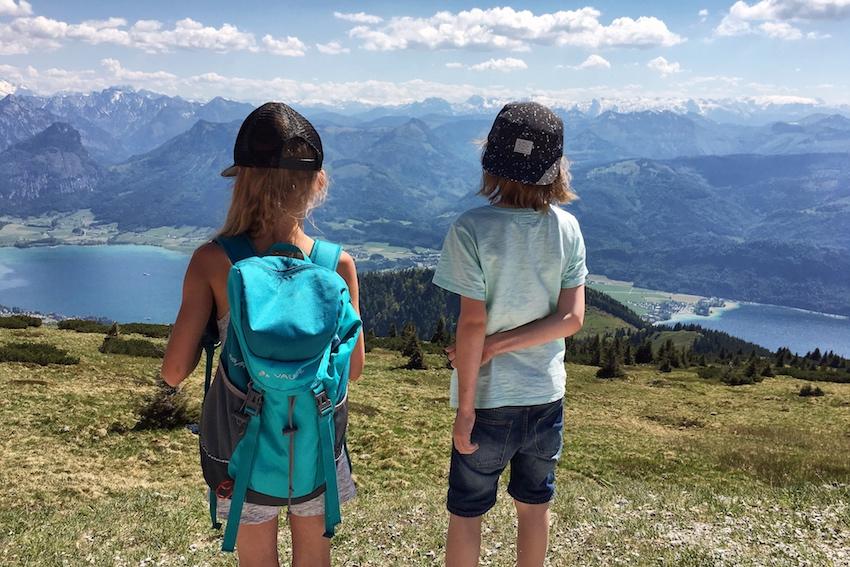 Aussicht Wolfgangsee Kinder
