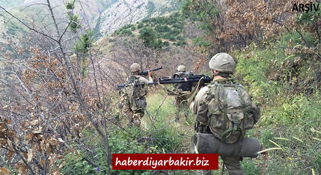 Diyarbakır Lice'de 1 PKK'li öldürüldü