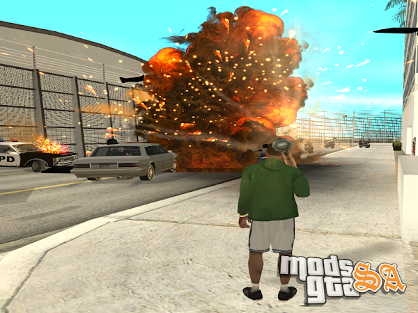 Overdose Effects v1.5 - Unofficial HD Retexture v2.0 para GTA San Andreas