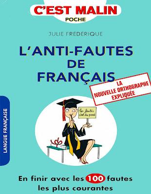 """le livre """"L'anti-fautes de français"""" avec format  pdf gratuitement"""