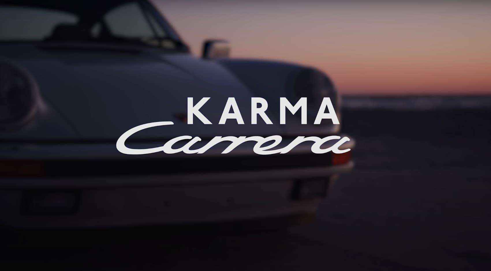 John und Aimee Oates und ihre Story über den 911 Porsche Karma Carrera