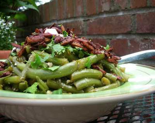 Fresh Green Bean Salad with Asian Dressing