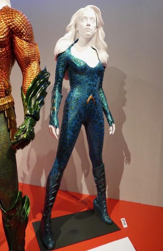 Amber Head Aquaman Mera film costume
