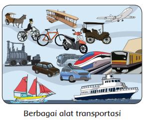 Berbagai alat transportasi www.simplenews.me
