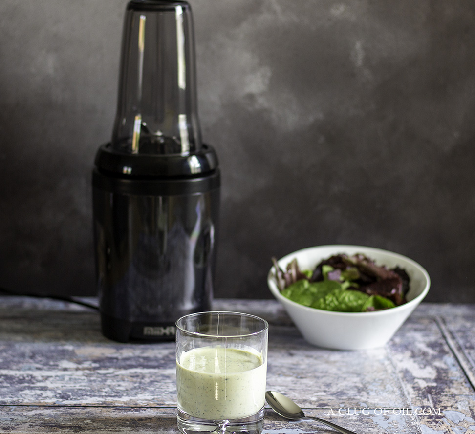 Fat-free salad dressing and the X7 Blender