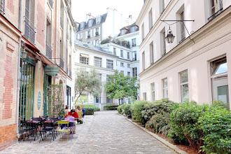 Paris : Passage Dauphine, échappée verdoyante à Saint-Germain-des-Prés - VIème