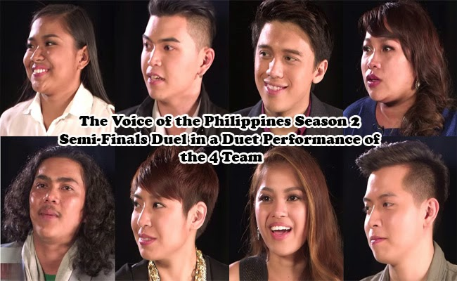 The Voice of the Philippines Season 2 Semi-Finals Duel in a Duet Performances of the 4 Team