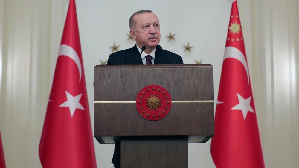 Ο Ερντογάν λέει ότι η αντιπολίτευση κάνει τις διαδηλώσεις