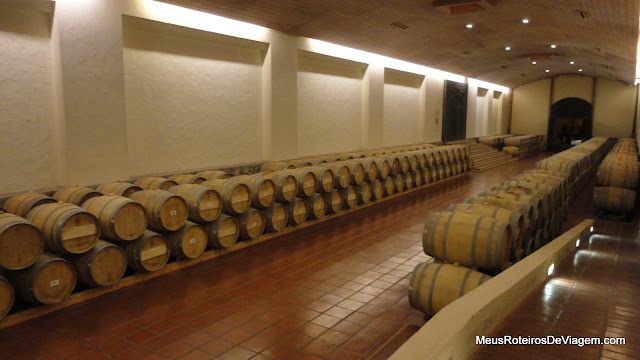 Adega da vinícola Concha y Toro