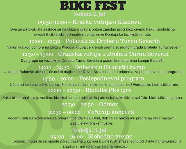 Bike Fest Program