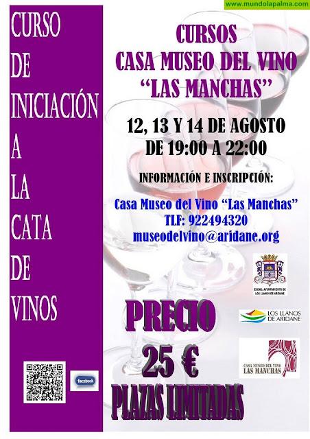 La Casa Museo del Vino de Las Manchas acoge un taller de iniciación a la cata de vinos