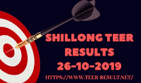 Shillong Teer Results Today-26-10-2019