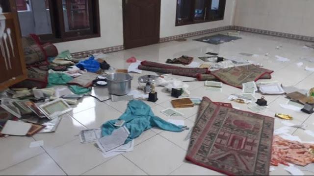 Kembali Terjadi Al Qur'an Dirobek-robek, Polisi Duga Pelakunya Orang Gila