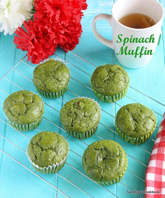 Spinach Muffin