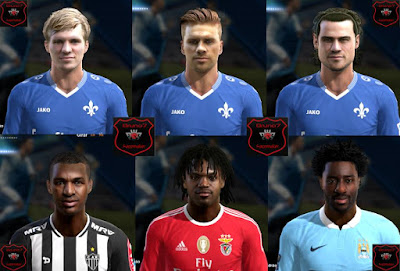 PES 2013 Facepack V.1 Bruno7 Facemaker