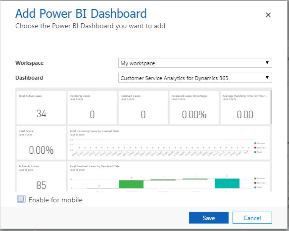 POWER BI INTEGRATION WITH MICROSOFT DYNAMICS 365 - Microsoft
