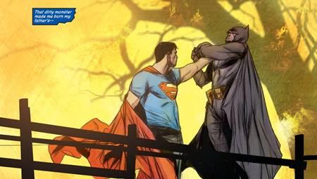 Superman consigue derrotar a Batman