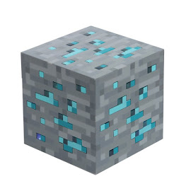 Minecraft Light-Up Diamond Ore Gadgets