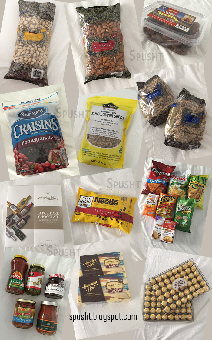 Food gift ideas for Family from USA